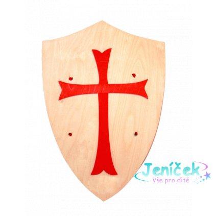 Fauna Dřevěný štít s křížem v