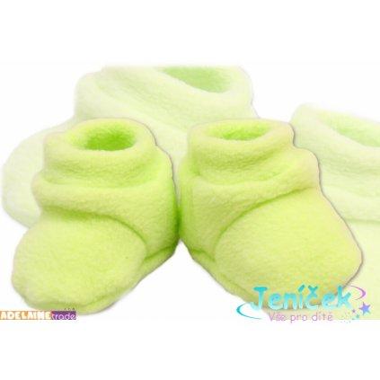 TERJAN Botičky/ponožtičky POLAR - zelené
