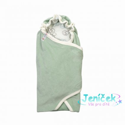 LODGER Wrapper Newborn Empire Silt Green
