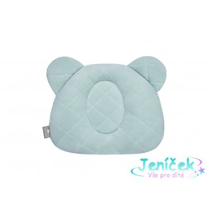 11453 fixac ni pols ta r ek royal baby teddy bear pillow ocean mint