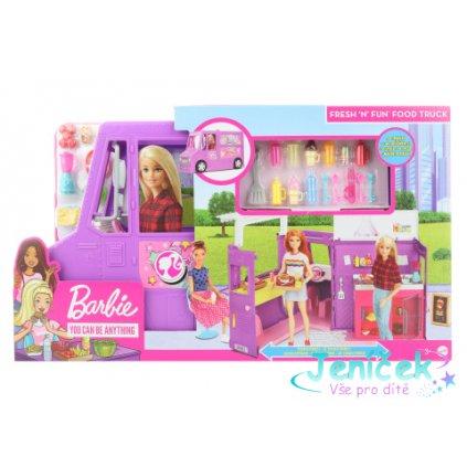 Barbie Pojízdná restaurace GMW07