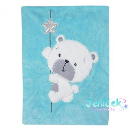 Dětská deka Koala Cute Darling modrá