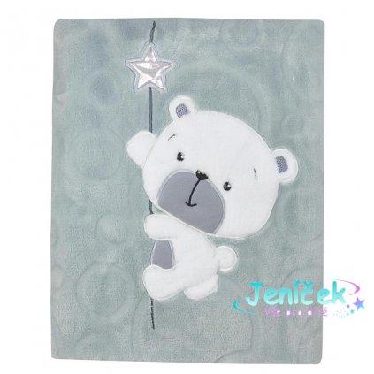 Dětská deka Koala Cute Darling šedá