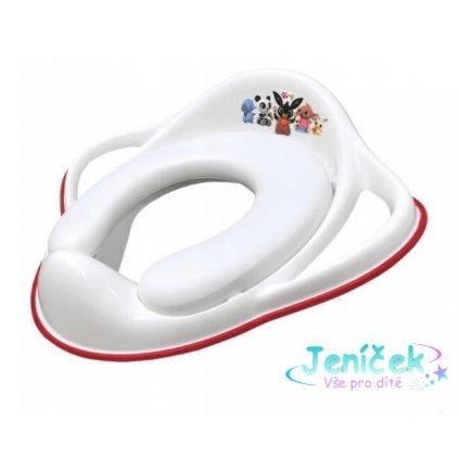 Maltex Adaptér - měkké treningové sedátko na WC - BING - bílé 2K