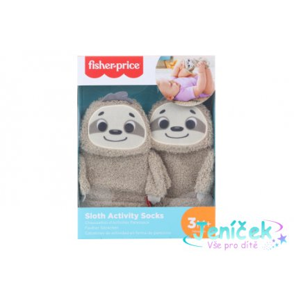 Fisher price Ponožky lenochod GNF16