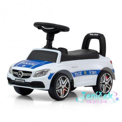 Odrážedlo Mercedes Benz AMG C63 Coupe Milly Mally Police