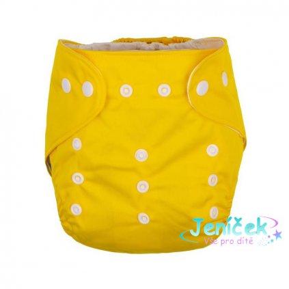 PETITE&MARS Kalhotky plenkové Diappy Yellow