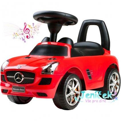 Dětské jezdítko Bayo Mercedes-Benz red