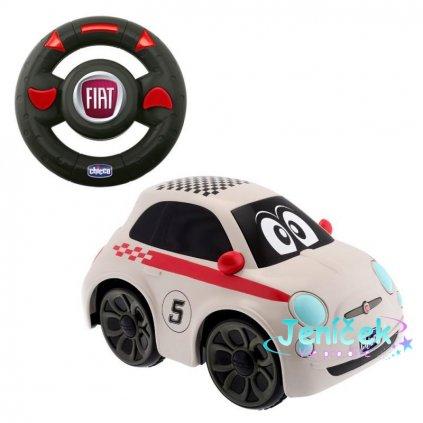 Hračka autíčko FIAT 500 na dálkové ovládání 2+