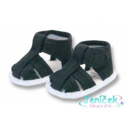 Laf sandálky Xoxo černé