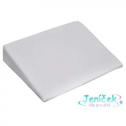 Polštář antirefluxní klín MEMORY White 30x30x8 cm