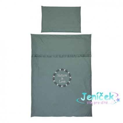 KLUPS Ložní prádlo pro miminko 4-dílné Savanna
