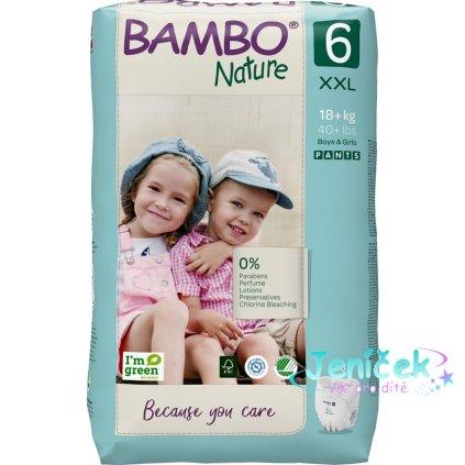 BAMBO Nature Kalhotky plenkové jenorázové Pants 6, 18 ks, 18+ kg