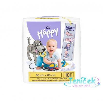 BELLA HAPPY Baby dětské podložky (60x60 cm), 10 ks