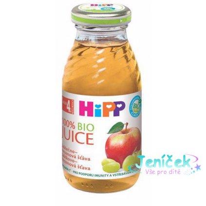 HiPP BIO šťáva jablečno - hroznová 200 ml
