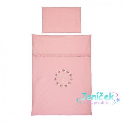 KLUPS Ložní prádlo pro miminko 4-dílné Rose