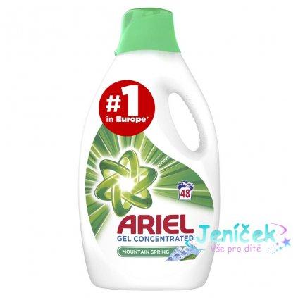 ARIEL Mountain Spring 2,64 L (48 praní) – Prací gel