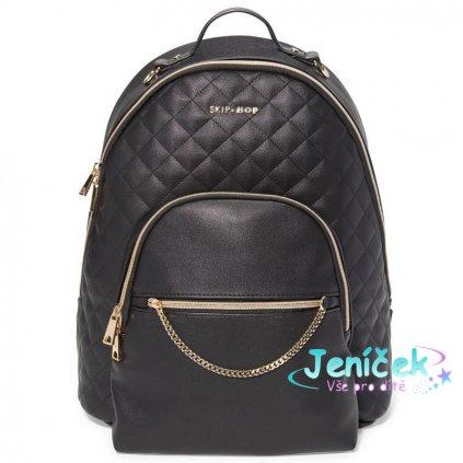 Taška přebalovací / batoh Linx Quilted Backpack Black