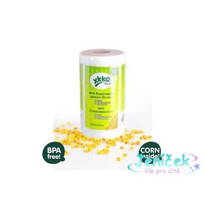 KIKKO Pleny separační 100% biodegradabilní 30x19 cm (1 ks) - 200 ks/role