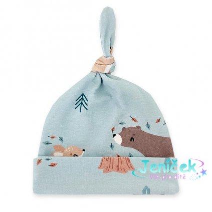 czapeczka niemowlaka lesni przyjaciele