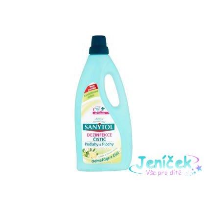 SANYTOL Dezinfekční univerzální čistič podlahy 1 L – citrus