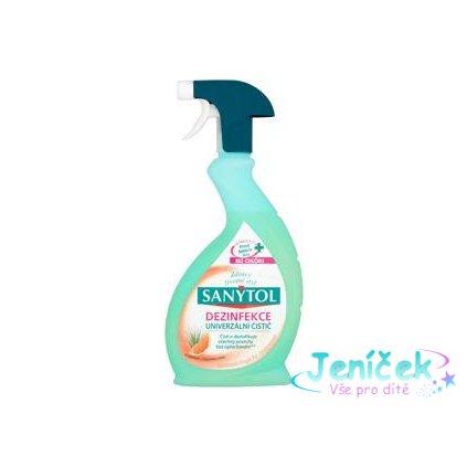 SANYTOL Dezinfekční univerzální čistič spray 500 ml – grep a citronová tráva