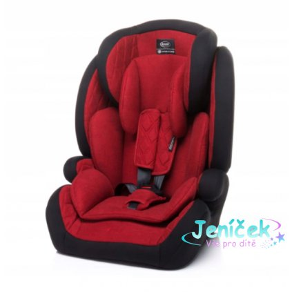 4 BABY Autosedačka ASPEN XIX 9-36 kg - červená