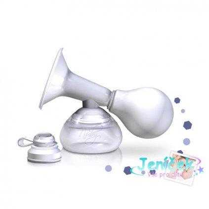 NUBY Odsávačka mateřského mléka manuální s nádobkou 90 ml
