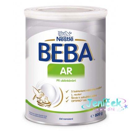 BEBA AR, Mléčná počáteční výživa při ublinkávání 800 g