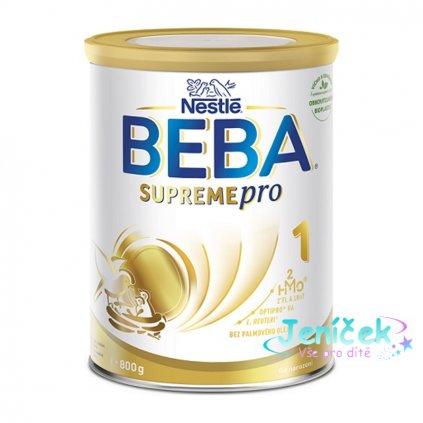 BEBA SUPREMEpro 1, mléčná kojenecká výživa 800 g