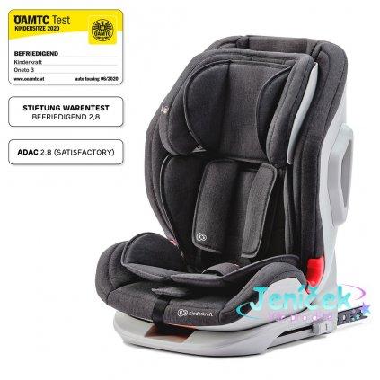 Autosedačka ONETO3 Isofix Black 9-36 kg Kinderkraft