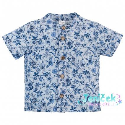 PINOKIO dětská košile Summertime - květovaná