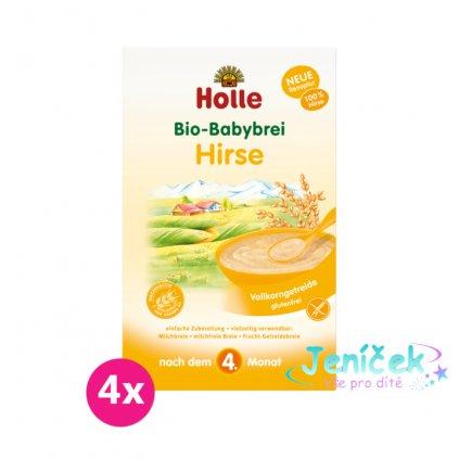 4x HOLLE Organická jahelná kaše - 250 g
