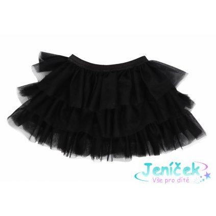 Mamatti Kojenecká tylová sukně, Myška - černá