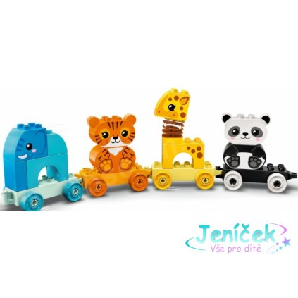 Lego Duplo - Vláček se zvířátky ze ZOO