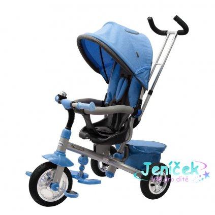 Dětská tříkolka Baby Mix 3v1 TYPHOON 360° modrá