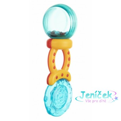 Canpol babies Chrastítko s kousátkem Lízátko - různé barvy