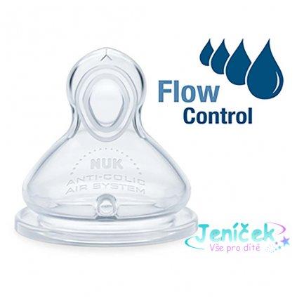 Savička Flow Control Nuk 6-18 m 2 ks