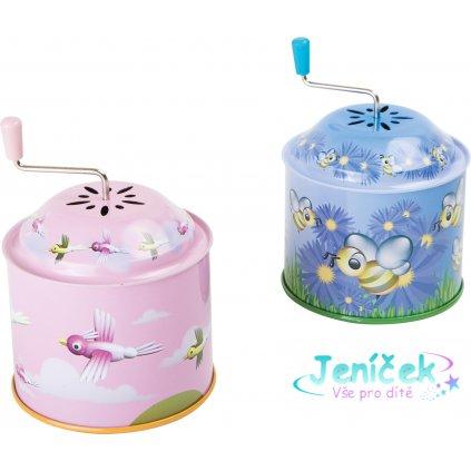 """Small Foot Muzikální hrací skříňka """"Melody"""" 1 ks růžová Small Foot Muzikální hrací skříňka """"Melody"""" 1 ks růžová"""
