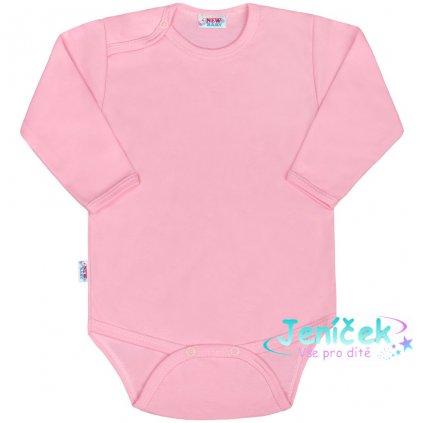 Kojenecké body New Baby Classic II růžové V