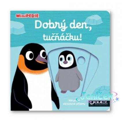 Kniha MiniPEDIE Dobrý den, tučňáčku!