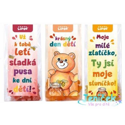 Medvídkový čaj - balíček Den dětí střední 3 x 50g