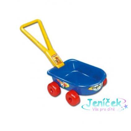 Dětský vozík - modrý