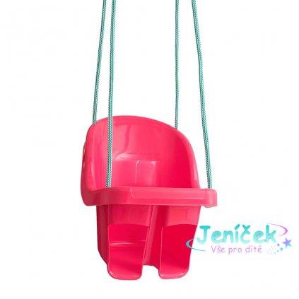 Dětská závěsná houpačka Tega červená