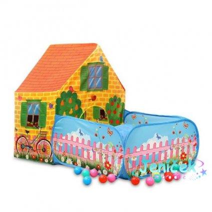 iPLAY Dětský stan - Farma