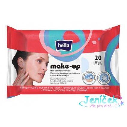 BELLA Make-up odličovací vlhčené ubrousky, 20 ks V