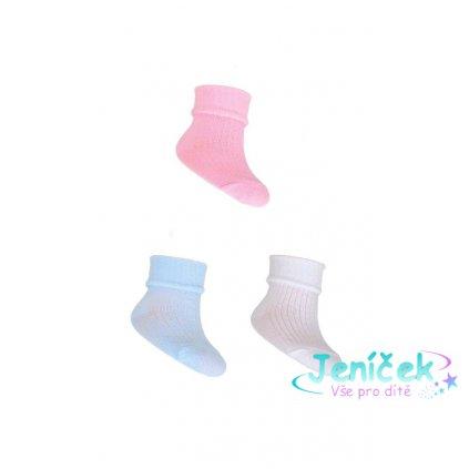 YO! Ponožky 1 pár - růžové