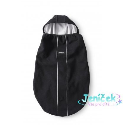 Přikrývka na nosítka Babybjorn - black/černá