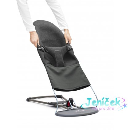 Potah na lehátko Balance BLISS Charcoal Grey 3D Jersey
