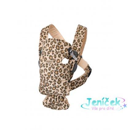 Babybjorn nosítko MINI Leopard print cotton
